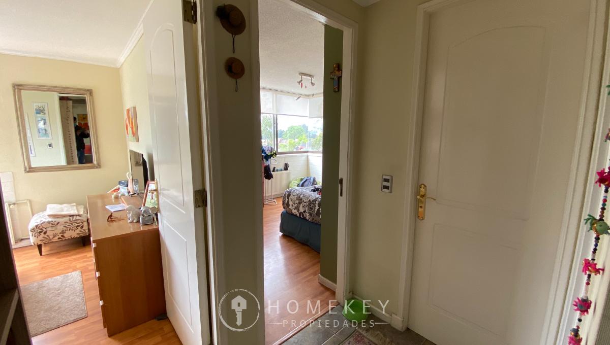 departamento en venta en concepcion - corredora de propiedades en concepcion - home key propiedades